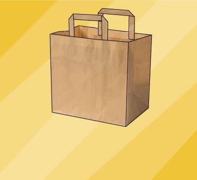 Papiertragetaschen bringen Dein Sortiment sicher zum Kunden